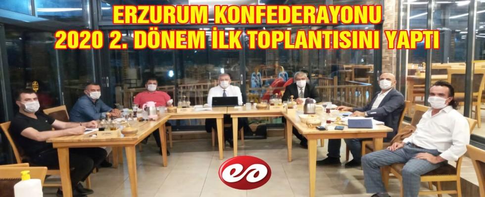 ERZURUM KONFEDERASYONU 2. TOPLANTISINI YAPTI