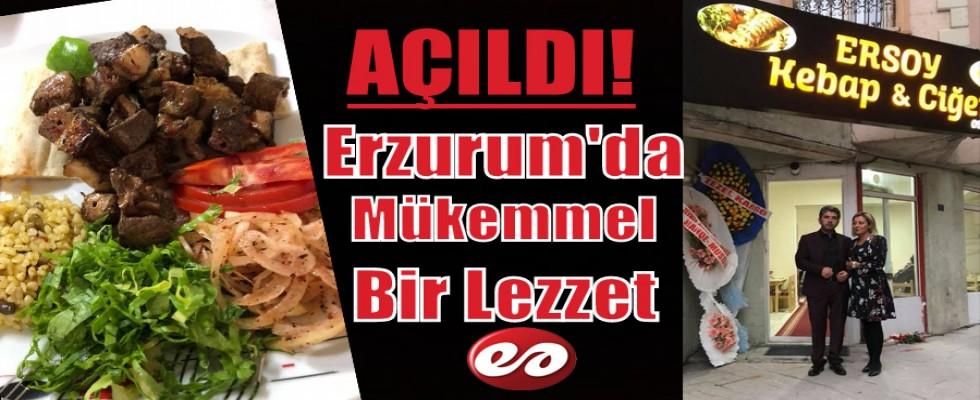 Erzurum'da Yeni Bir Tat