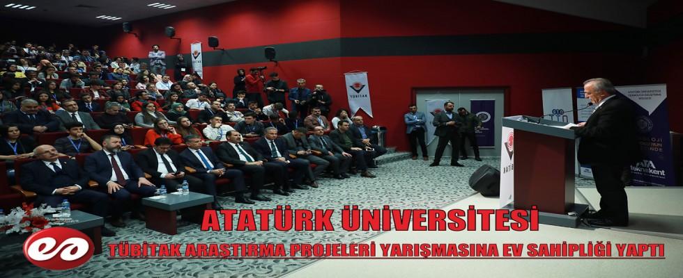 Atatürk Üniversitesi Tubitak Proje Yarışmasına Ev Sahipliği Yaptı