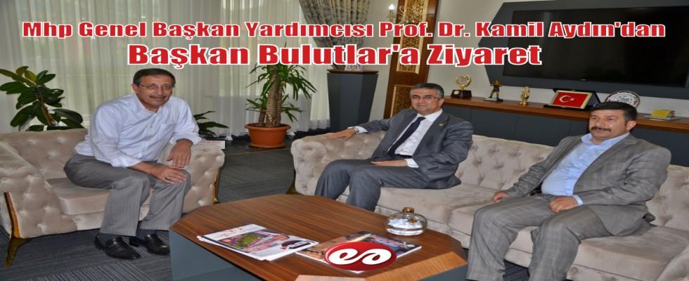 MHP Genel Başkan Yardımcısı Aydın Palandöken Belediye Başkanı Bulutları ziyaret etti.