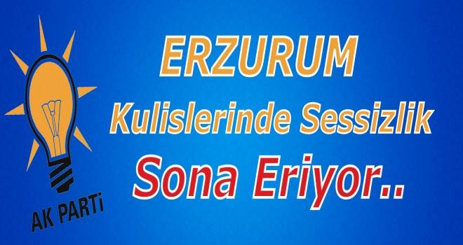 Erzurum Kulislerinde Sessizlik Sona Eriyor..