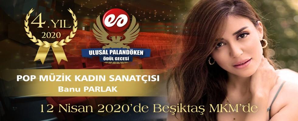 Yılın Pop Müzik Sanatçısı Banu Parlak