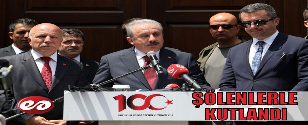 Erzurum Kongresinin 100. Yıl Dönümü Coşkuyla Kutlandı