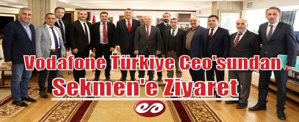 Vodafone Türkiye Ceo'su Deegan ; Erzurum Müthiş Bir Şehir