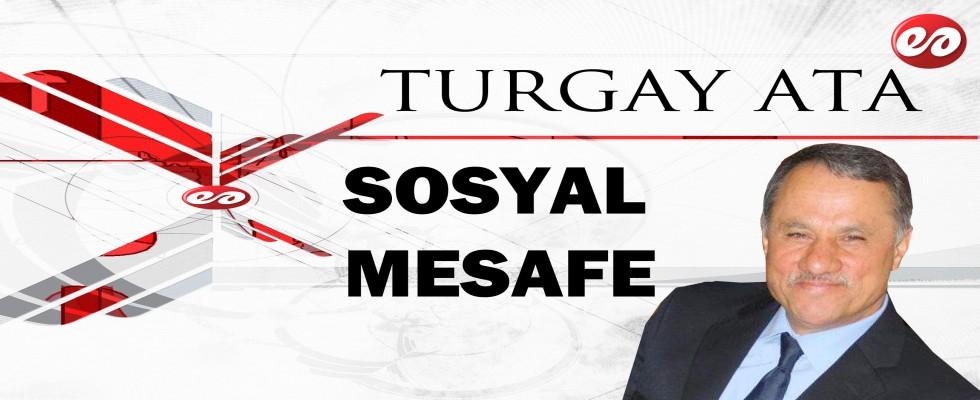 ''SOSYAL MESAFE'' ŞAİR TURGAY ATA'NIN KALEMİNDEN