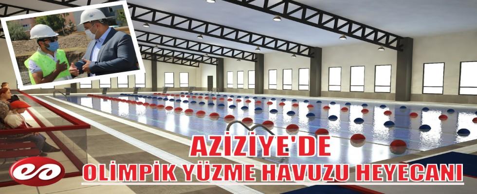 AZİZİYE'DE OLİMPİK YÜZME HAVUZU HEYECANI