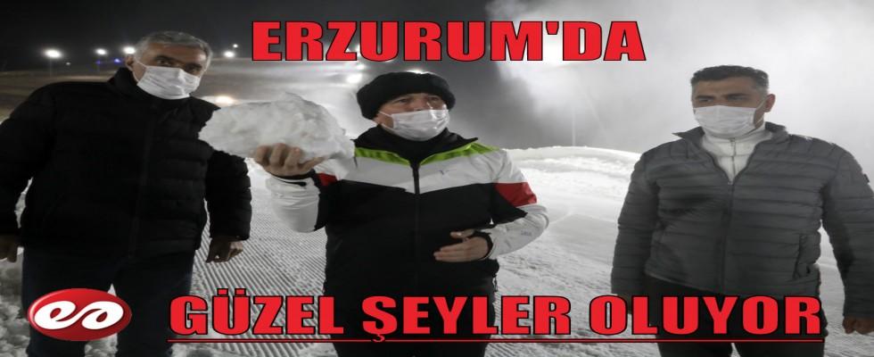 TÜRKİYE'DE BİR İLK ERZURUM'DA