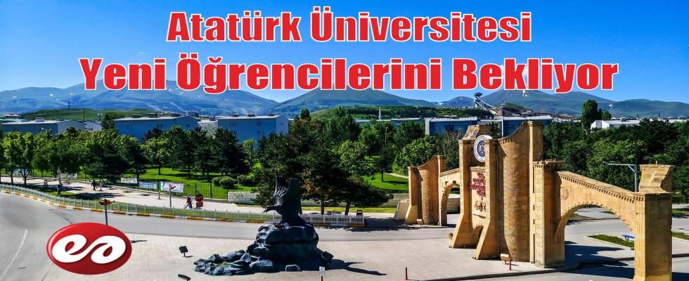 Atatürk Üniversitesi Yeni Öğrencilerini Bekliyor