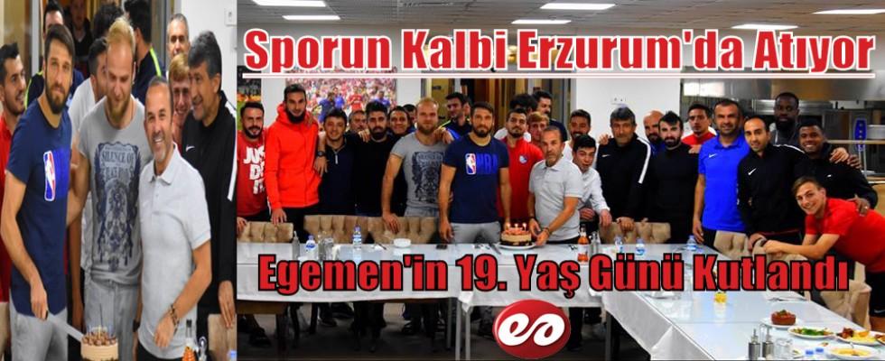 Spor'un Kalbi Erzurum'da Atıyor