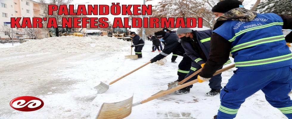 PALANDÖKEN KARA NEFES ALDIRMADI