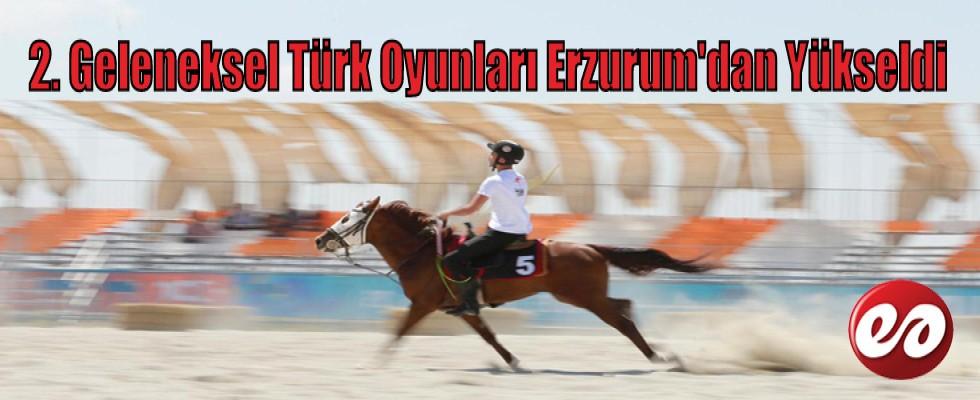 Türk'ün Kalesi Erzurum'dan Türk Oyunları