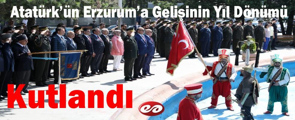 Atatürk'ün Erzurum'a Gelişinin 99. Yıl Dönümü
