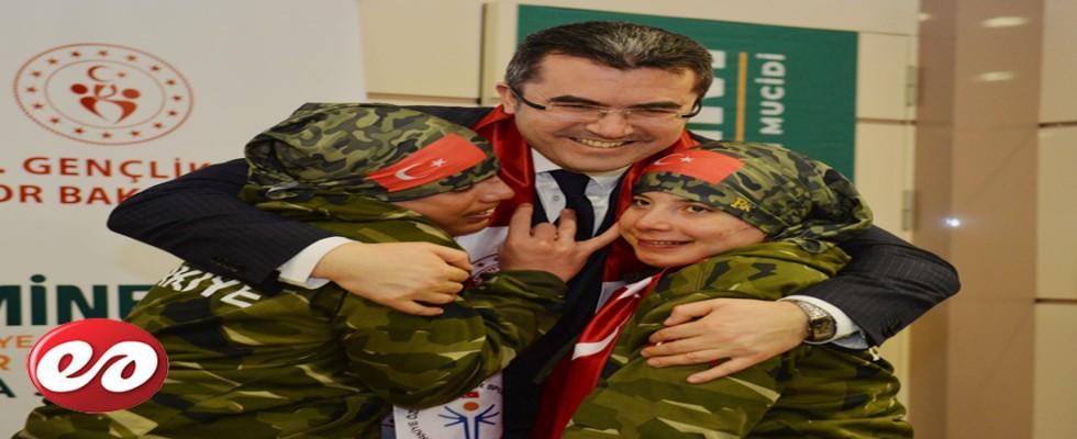 Özel Sporcular Şampiyonası Erzurum'da Başladı