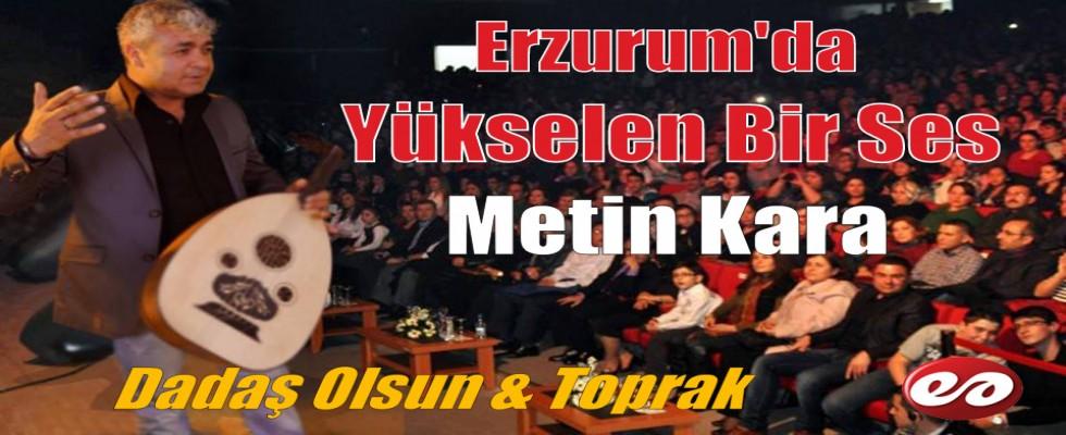 Erzurum'da Yükselen Bir Ses..