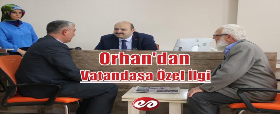 Aziziye Belediye Başkanı Orhan'dan Vatandaşa Özel İlgi