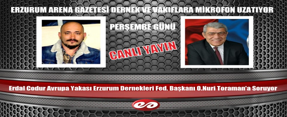 Erzurum Arena Gazetesi Erzurum Stk'larına Mikrofon Uzatıyor