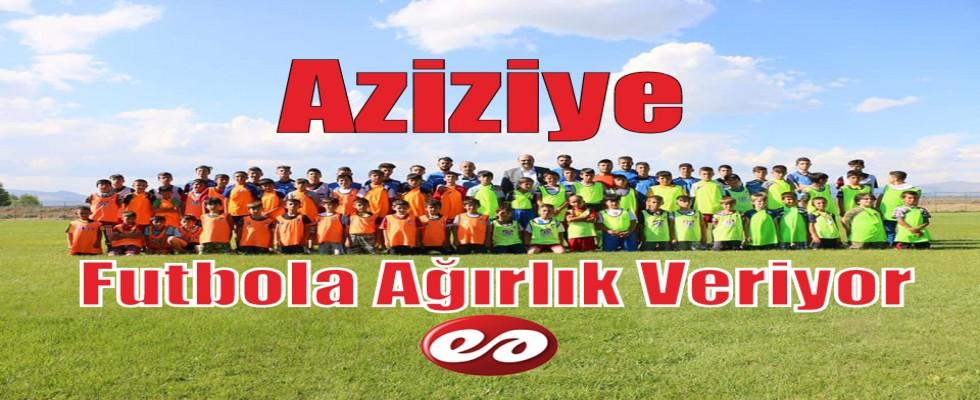 Aziziye'de Futbol Zamanı