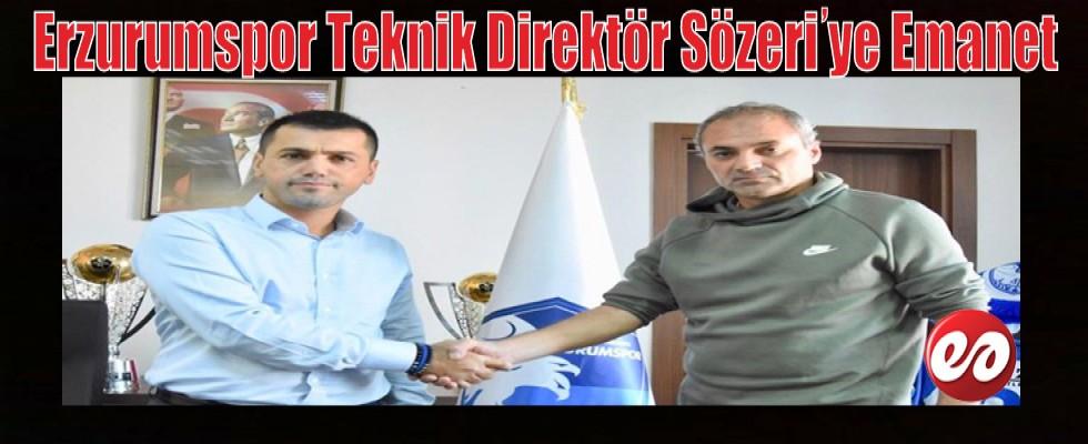 İşte Erzurumspor'un Yeni Hocası