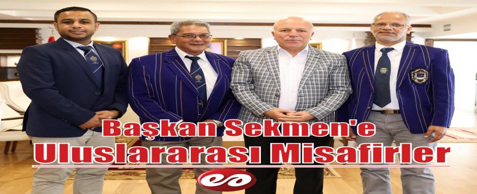 Osmanlı Kriket Kulübünden Başkan Sekmen'e Ziyaret
