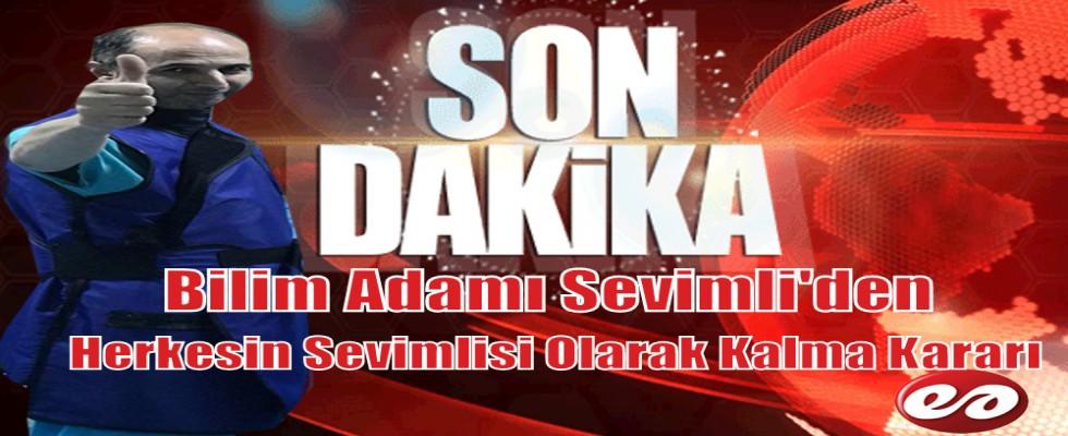 Bilim Adamı Serdar Sevimli'den Erzurum'un Sevimlisi Olmaya Devam Kararı