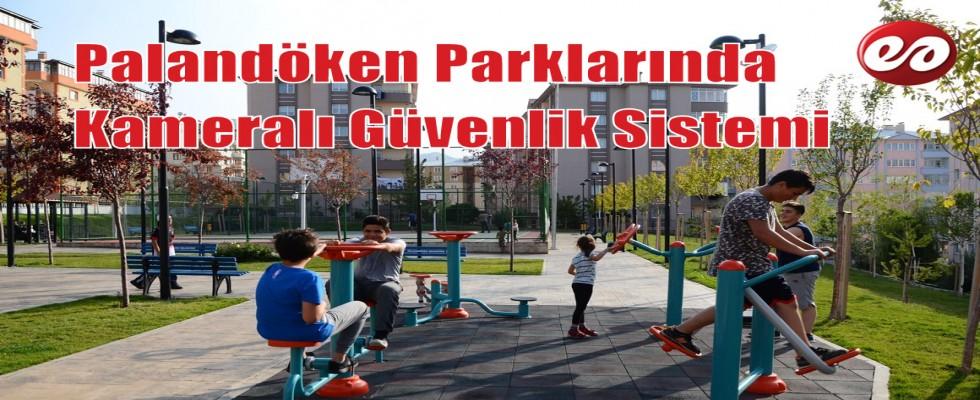 Palandöken Belediyesi Parkları Artık Daha Güvenilir..