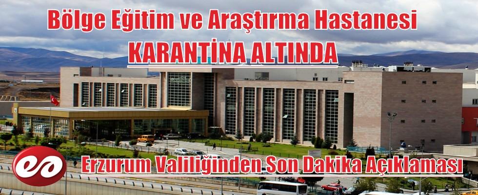 Erzurum'da Siyanür Vakası