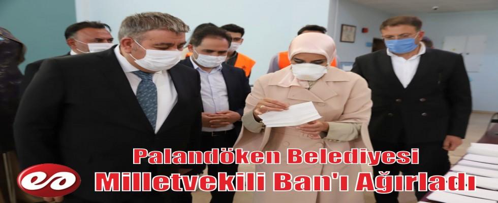 Palandöken Belediyesi Milletvekili Ban'ı Ağırladı