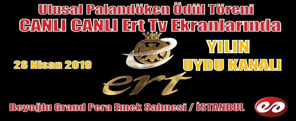 Ulusal Palandöken Ödül Töreni Ert Tv Ekranlarından CANLI CANLI Yayınlanacak
