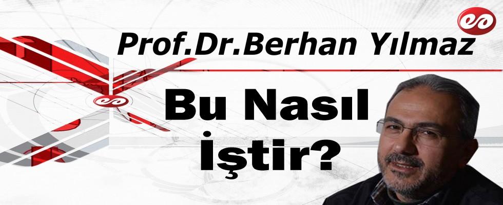 ''Bu Nasıl İştir'' Prof. Dr. Berhan Yılmaz'ın Kaleminden