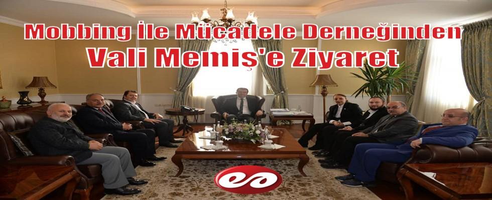 Mobbing İle Mücadele Derneği Erzurum İl Yönetiminden Vali Memiş'e Ziyaret