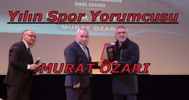 Ulusal Palandöken Ödül Töreninde Murat Özarı'ya Ödül...