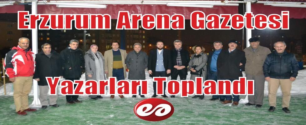 Erzurum Arena Ailesi Bir Araya Geldi