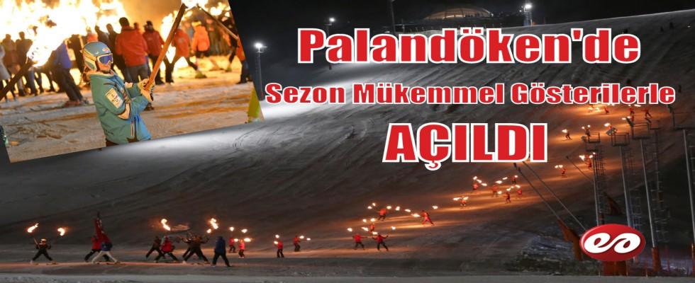 Palandöken'de Muhteşem Sezon Açılışı