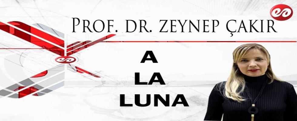 ''A LA LUNA...'' PROF. DR. ZEYNEP ÇAKIR'IN KALEMİNDEN