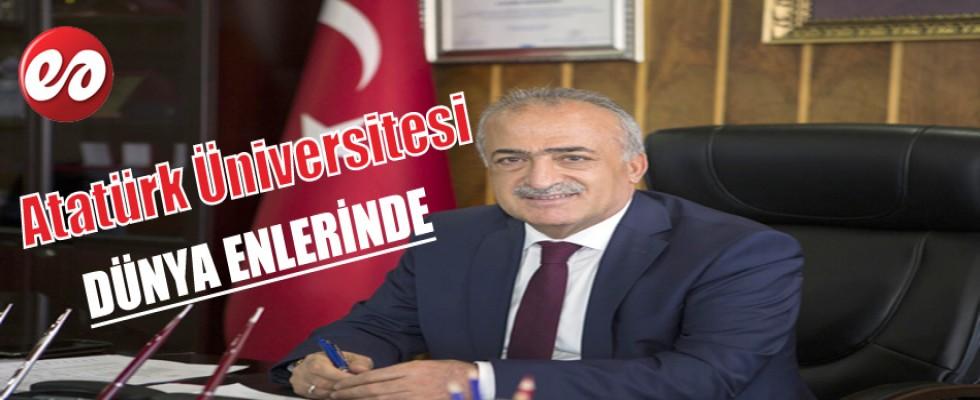 Atatürk Üniversitesi Dünya Listesinde