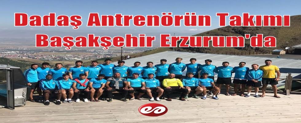 Erzurumlu Antrenör Özbey'in Takımı Başakşehirspor Erzurum'da Kampa Girdi