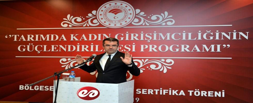 Tarımda Kadın Girişimciliğinin Güçlendirilmesi Programı Yapıldı
