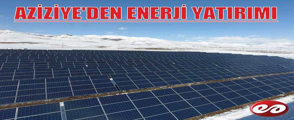 AZİZİYE'DEN ENERJİ YATIRIMI