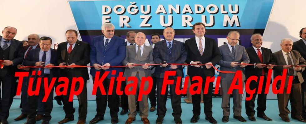 Türkiye'nin En Görkemli Kitap Fuarı Erzurum'da Açıldı..
