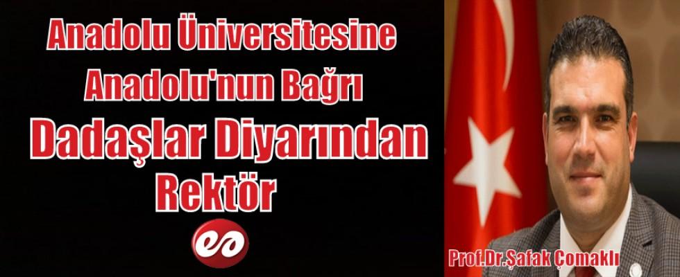 Erzurum'un Göğsü Kabarmaya Devam Ediyor. Çomaklı Anadolu Üniversitesine Rektör Atandı.