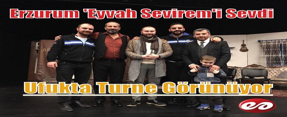 Erzurum Halk Tiyatrosu Beğeni Topladı