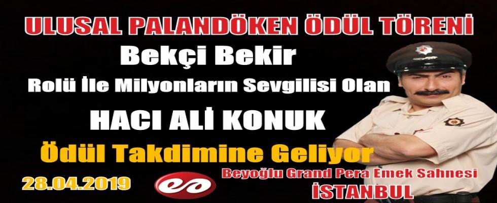 Bekçi Bekir Hacı Ali Konuk Ulusal Palandöken Ödül Töreninde