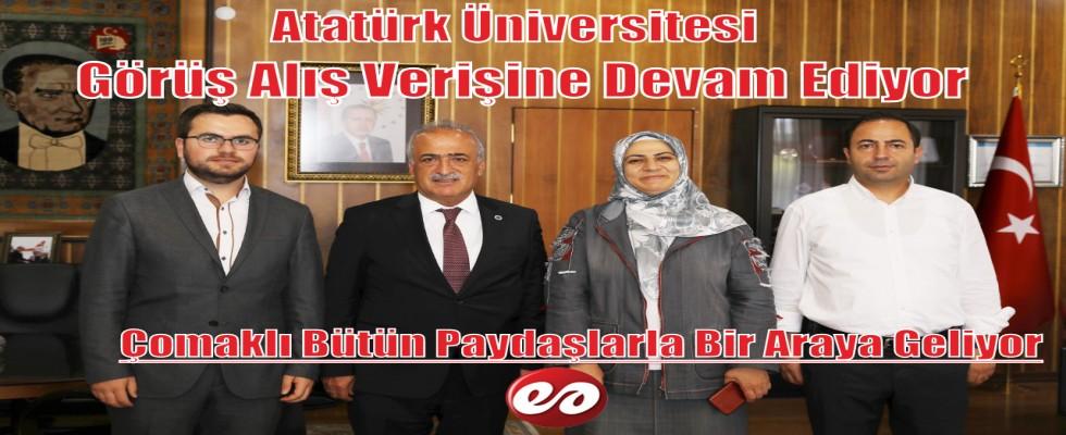 Atatürk Üniversitesi Paydaşları İle Bir Araya Geliyor