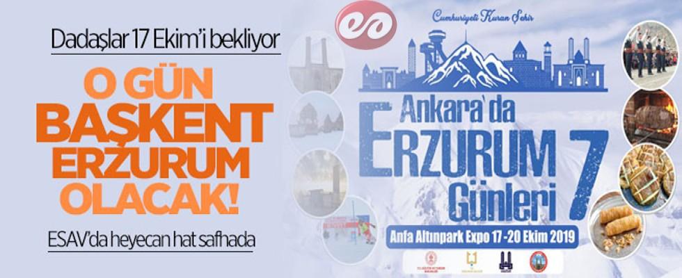 Başkent Semalarında Erzurum Rüzgarı