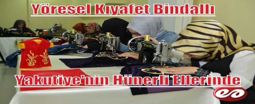 Türk Kadınlarının Yöresel Kıyafeti Bindallı Hünerli Ellerde Hayat Buluyor