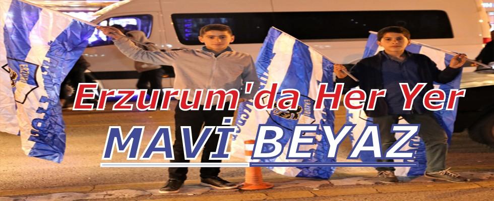 Erzurum'da Her Yer Mavi Beyaz..