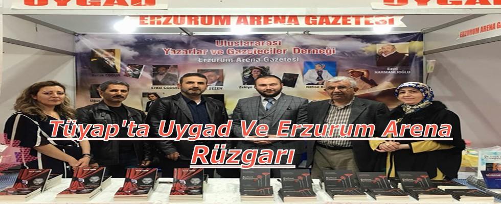 Erzurum Arena Gazetesi ve Uygad, Tüyap Kitap Fuarına Damga Vurdu