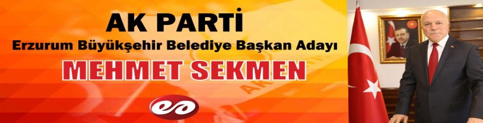Ak Parti Erzurum Büyükşehir Belediye Başkan Adayı Resmen Belli Oldu